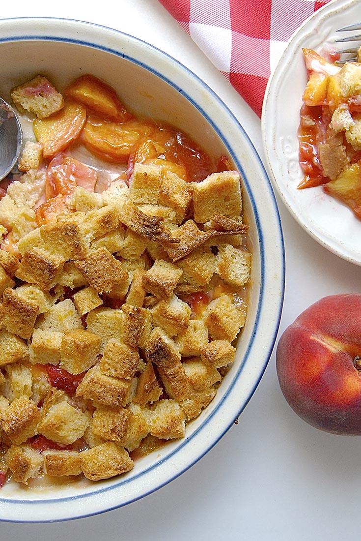 Just Too Easy Peach Cobbler Recipe