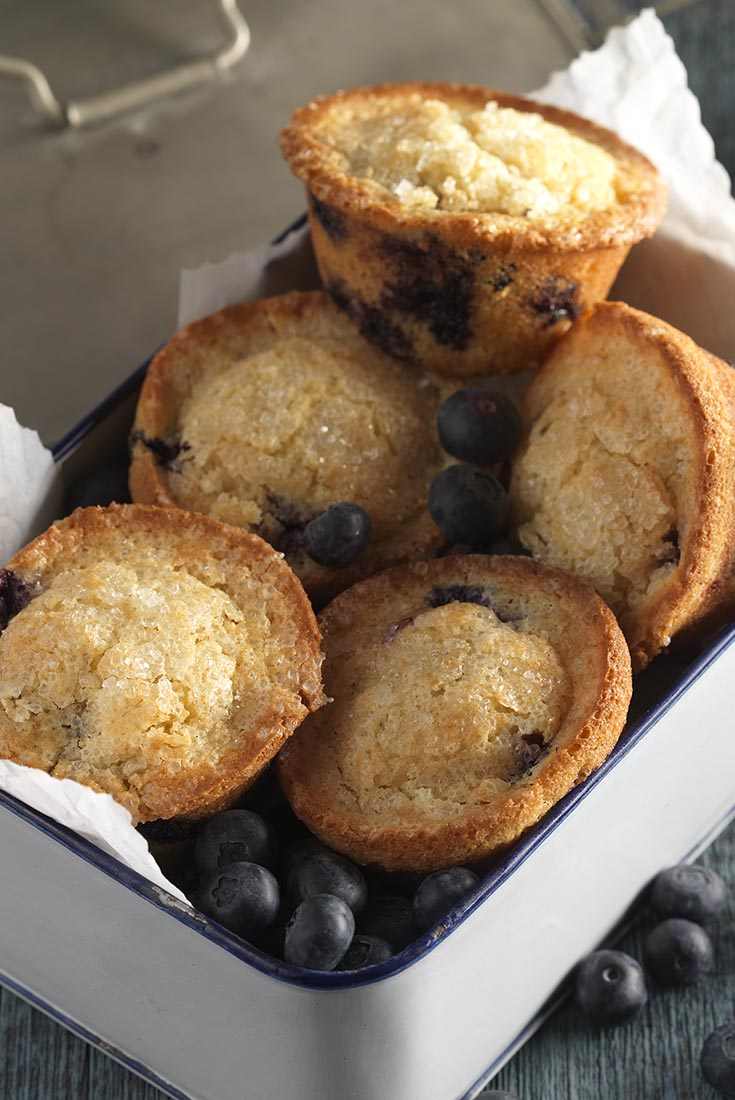Gluten-Free Blueberry Muffins  Recipe