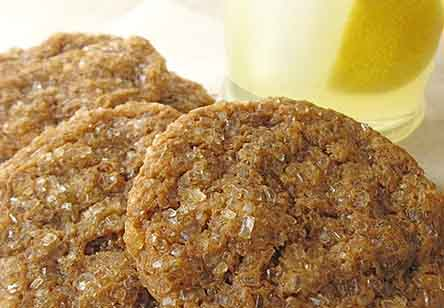 Soft Molasses-Raisin Cookies
