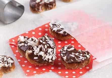 Coconut Caramel Candy Bars