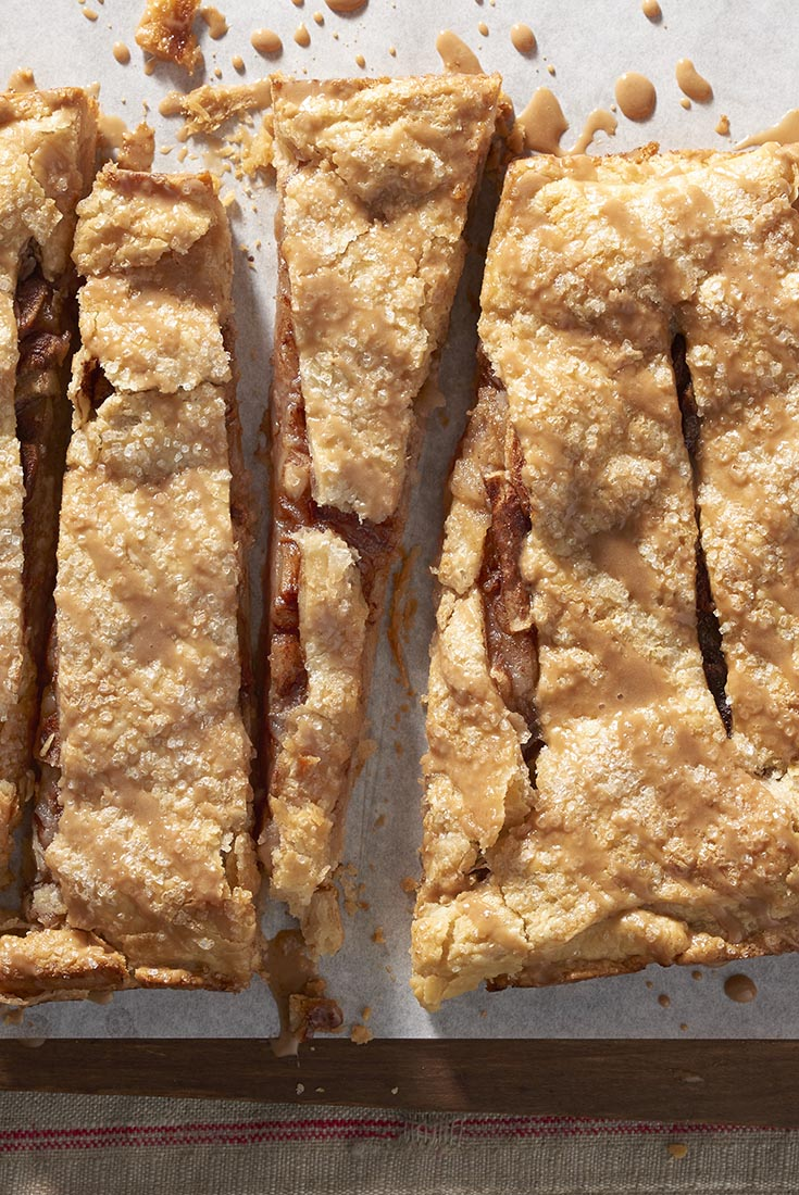 Old-Fashioned Apple Slab Recipe