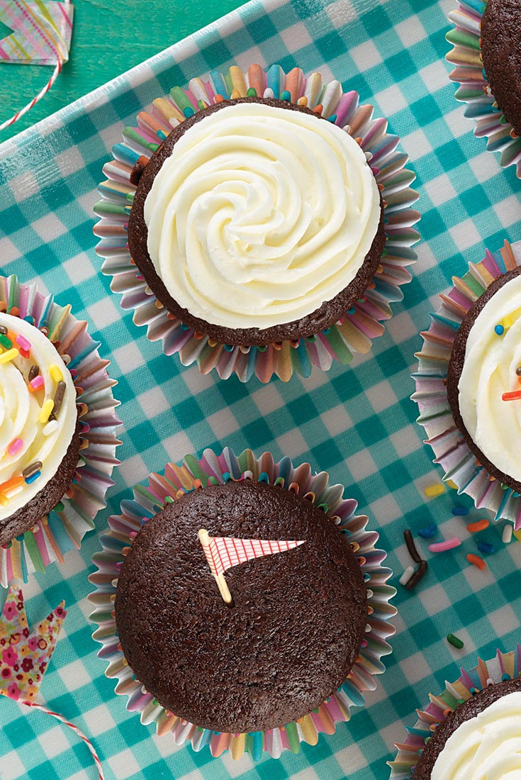 Bake Sale Fudge Cupcakes Recipe