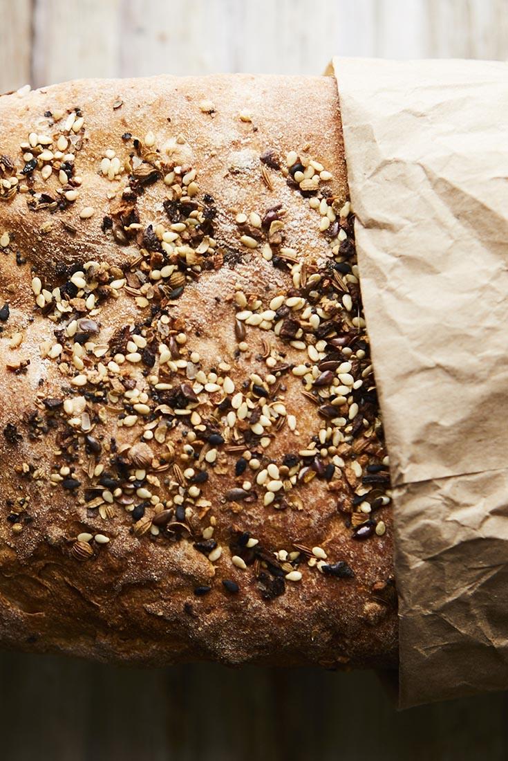 Clay's Multigrain Sourdough Sandwich Bread Recipe