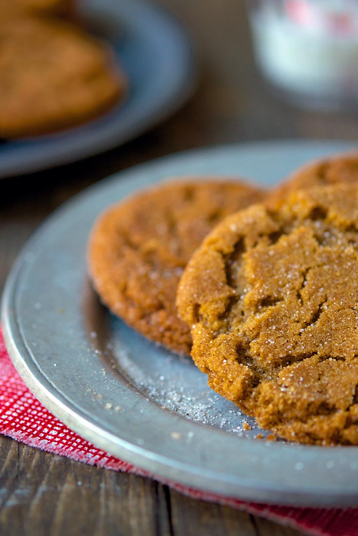 Gingersnaps Recipe | King Arthur Flour