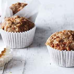 Ginger-Carrot Muffins