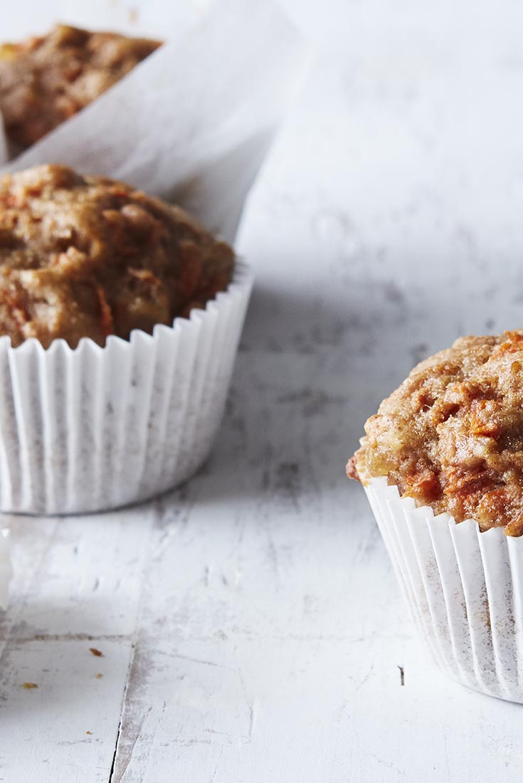 Ginger-Carrot Muffins Recipe
