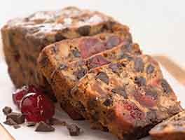 Chocolate Cherry-Berry Fruitcake