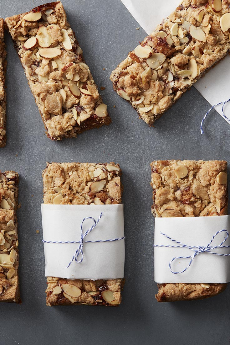 Gluten-Free Raspberry Almond Bars Recipe