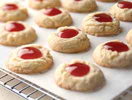 Lemon-Raspberry Thumbprints