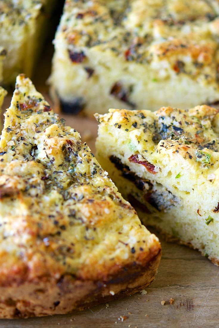 Savory Christmas Cheese Bread Recipe