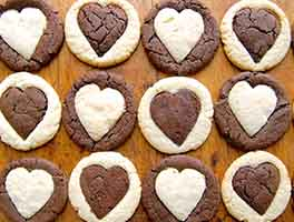 Heart of Gold Cookies