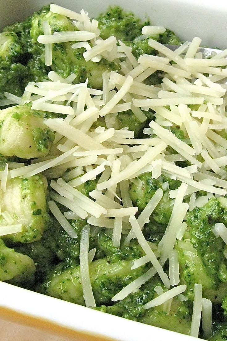 Potato Gnocchi with Parsley Pesto Recipe