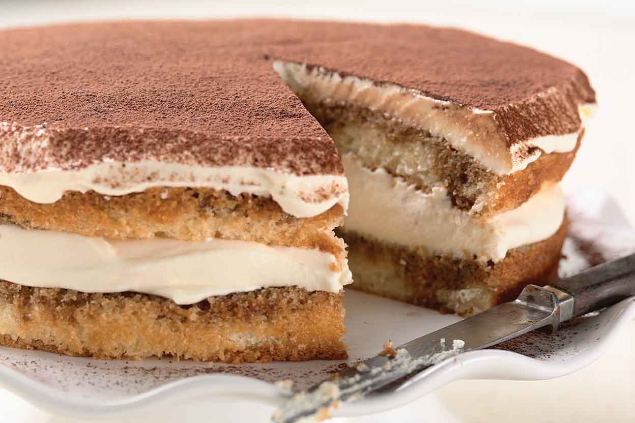 Recipes of tiramisu cake