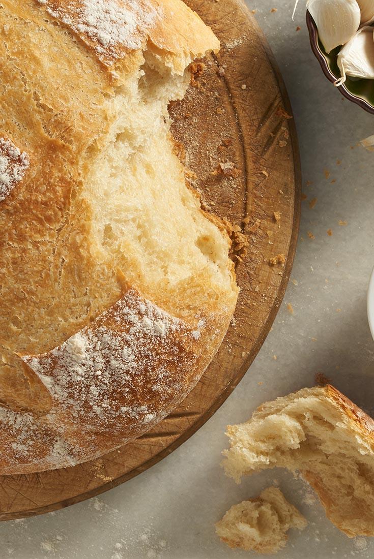 Crusty Cloche Bread Recipe