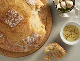 Crusty Cloche Bread