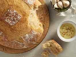 Crusty Cloche Bread