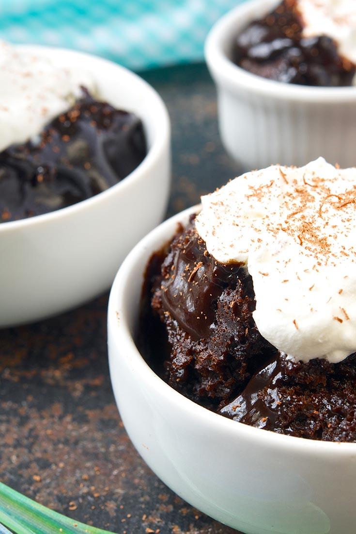 Easy Chocolate Pudding Cake Recipe | King Arthur Flour