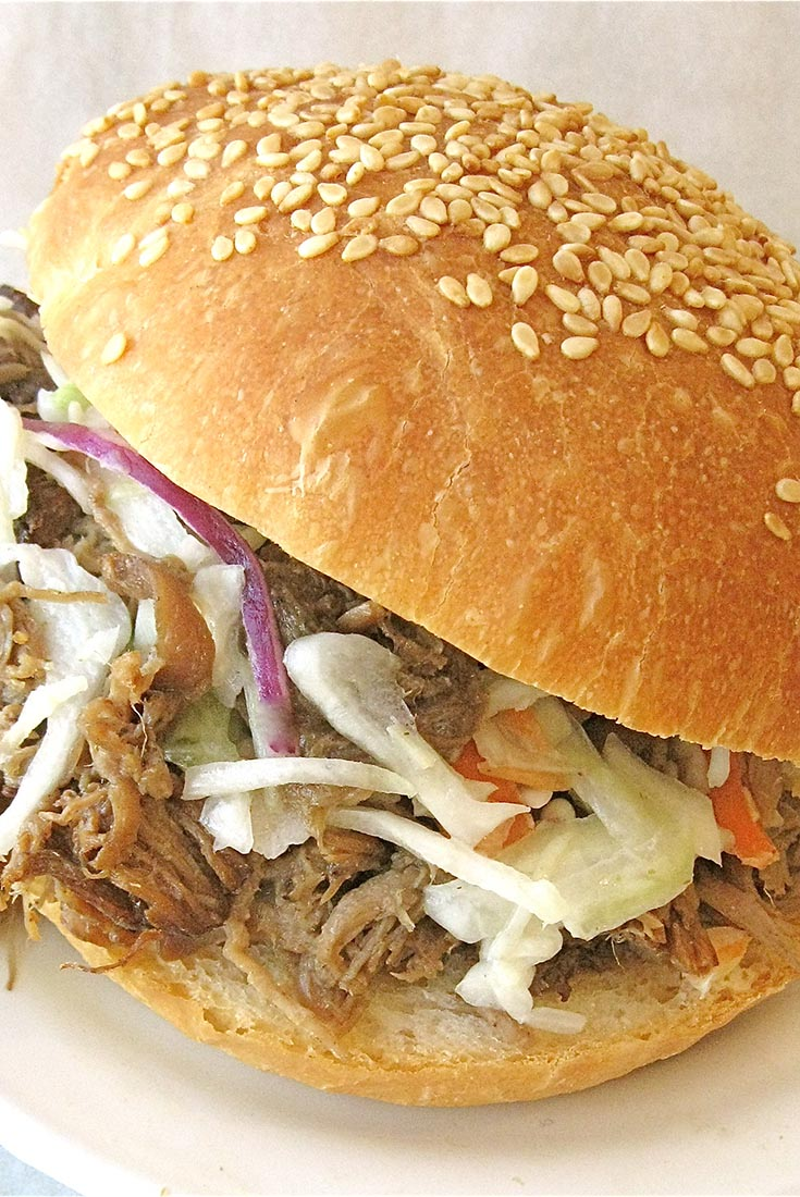 Sam's Pulled Pork Sandwich with Coleslaw   Recipe