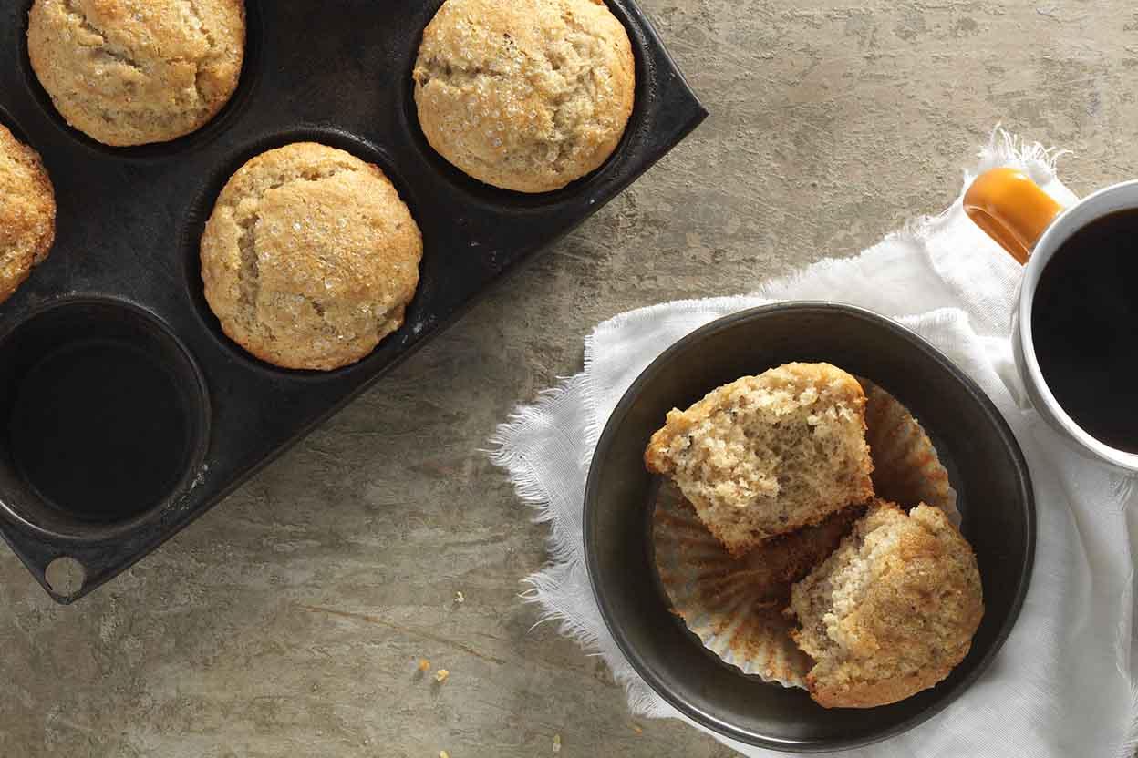 Gluten free banana muffins recipe king arthur flour ccuart Image collections