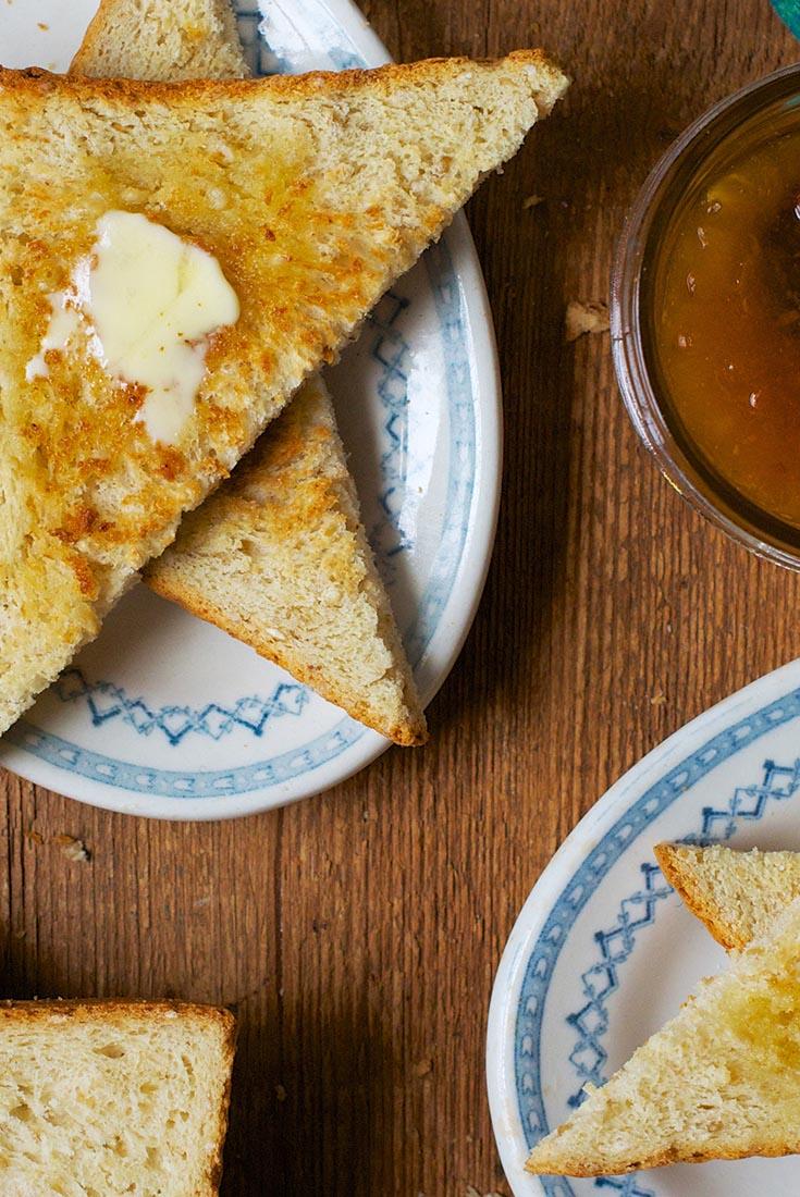 Honey-Oat Pain de Mie Recipe