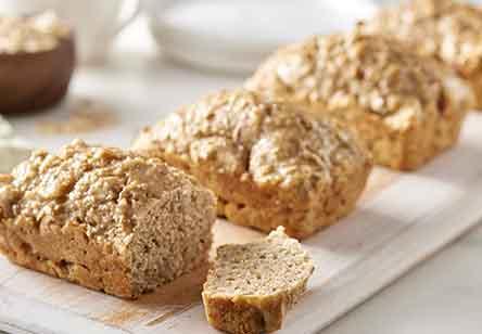 Maple Oat Soda Bread