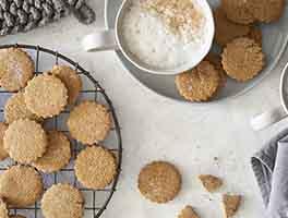 Paleo Gingerbread Cutout Cookies