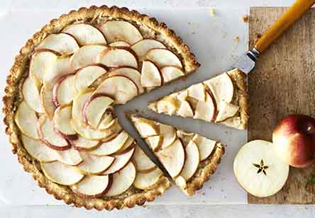 Paleo Apple-Ginger Tart