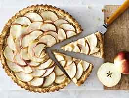 Paleo Apple-Ginger Tart