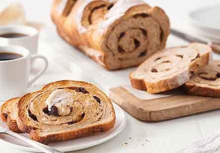 Multigrain Cinnamon-Raisin Bread