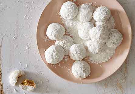 Grain-Free Wedding Cookies