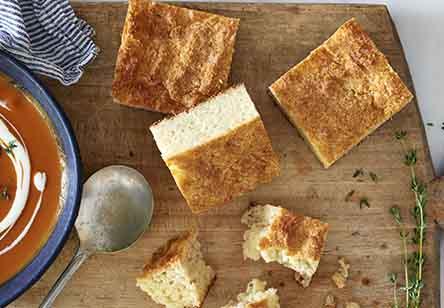 Grain-Free Cheddar Pan Bread
