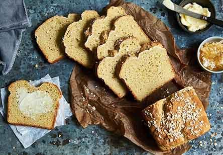 Gluten-Free Honey-Oat Sandwich Bread