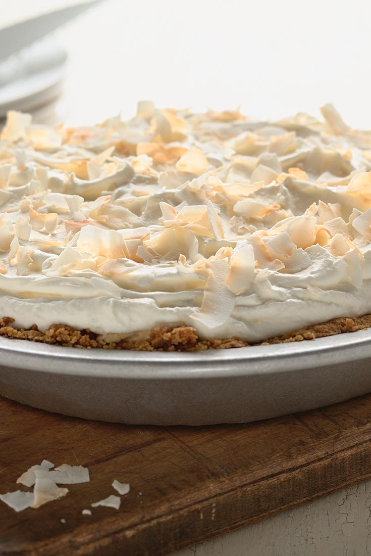 Easy Coconut Cream Pie Recipe
