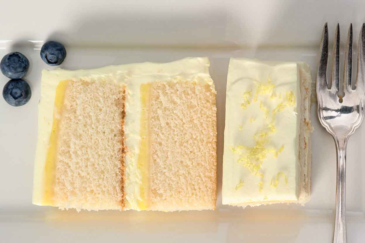 Lemon Cloud Cake Recipe | King Arthur Flour