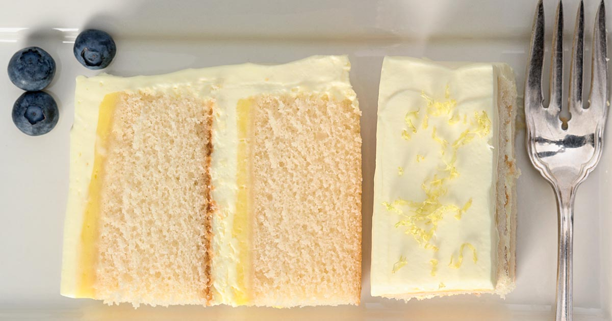 Lemon Cloud Cake Recipe