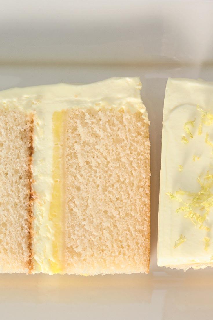 Lemon Cloud Cake Recipe
