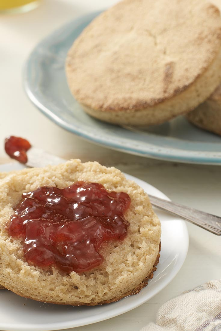 Hi-Fiber English Muffins Recipe