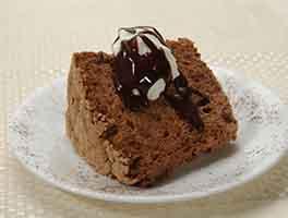 Gluten-Free Chocolate Angel Food Cake