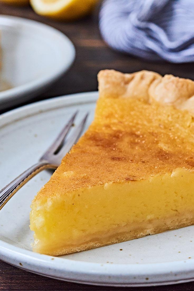 Lemon Chess Pie Recipe