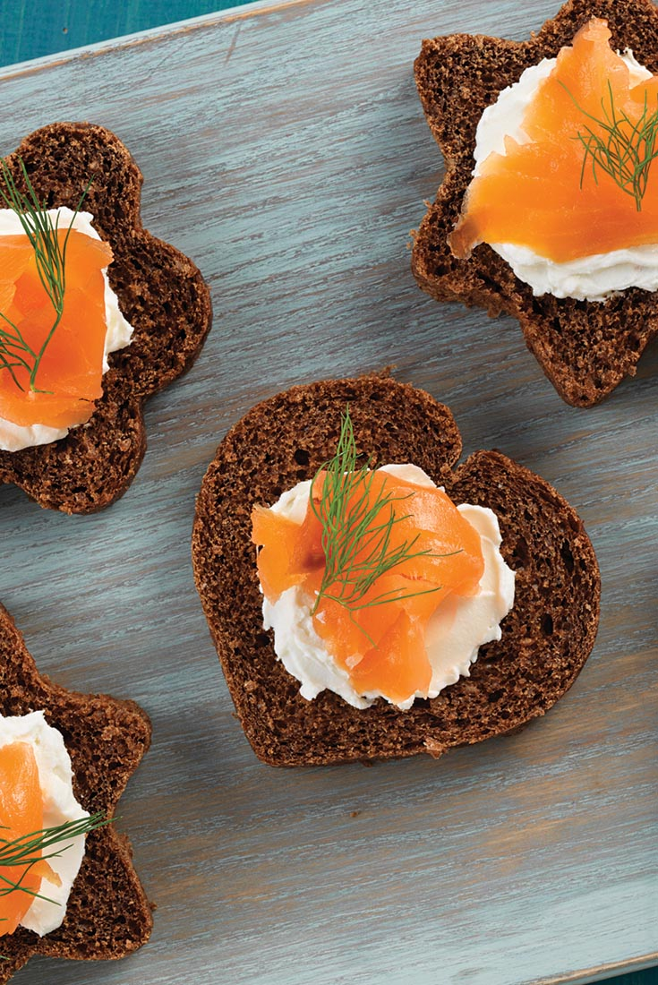 Canapé Pumpernickel Bread Recipe