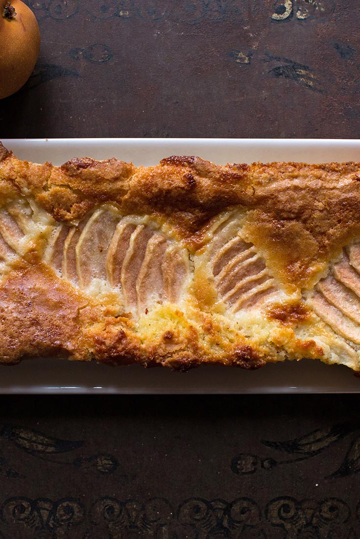 Pear & Almond Tart Recipe