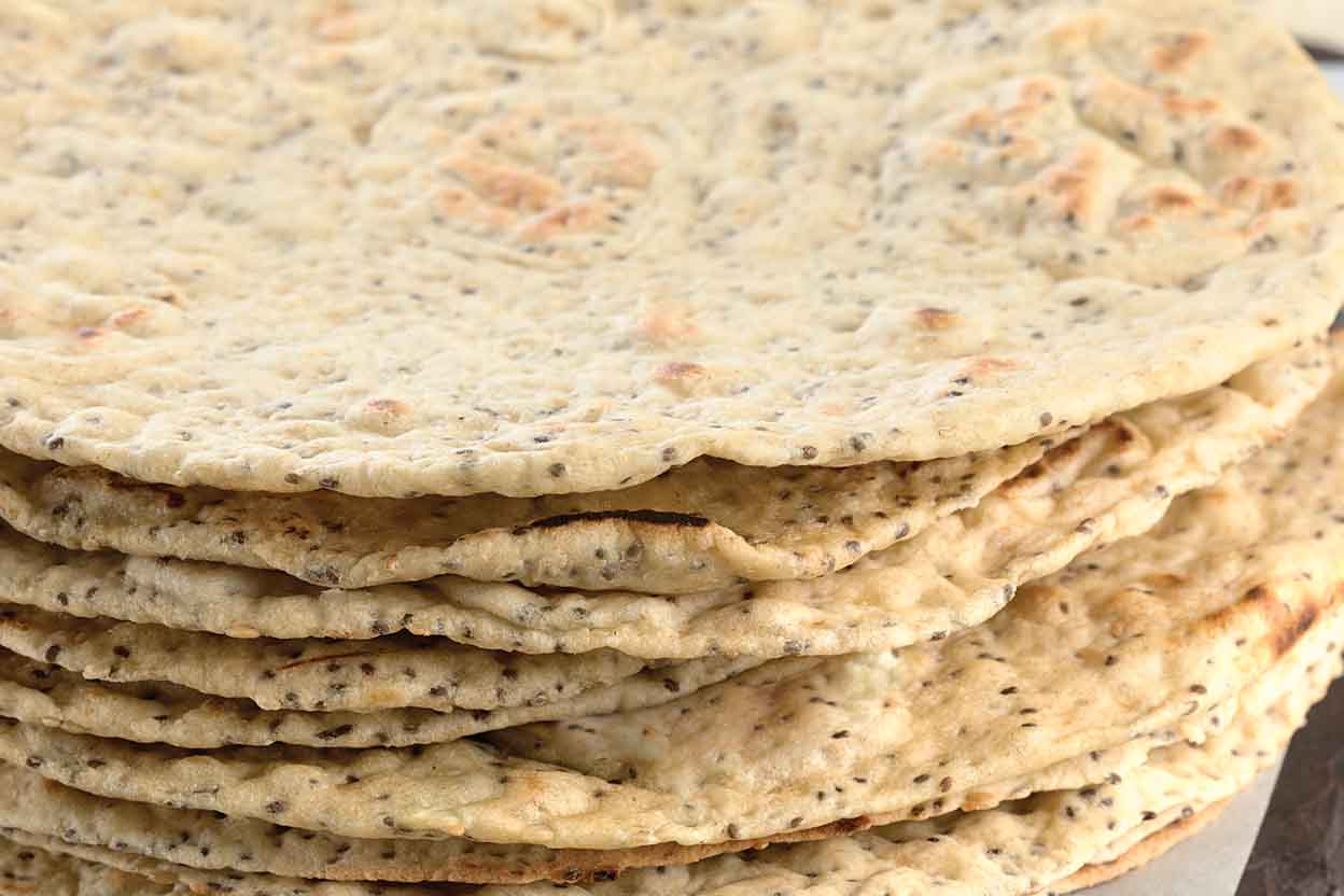 Chia Seed Flatbread Recipe | King Arthur Flour