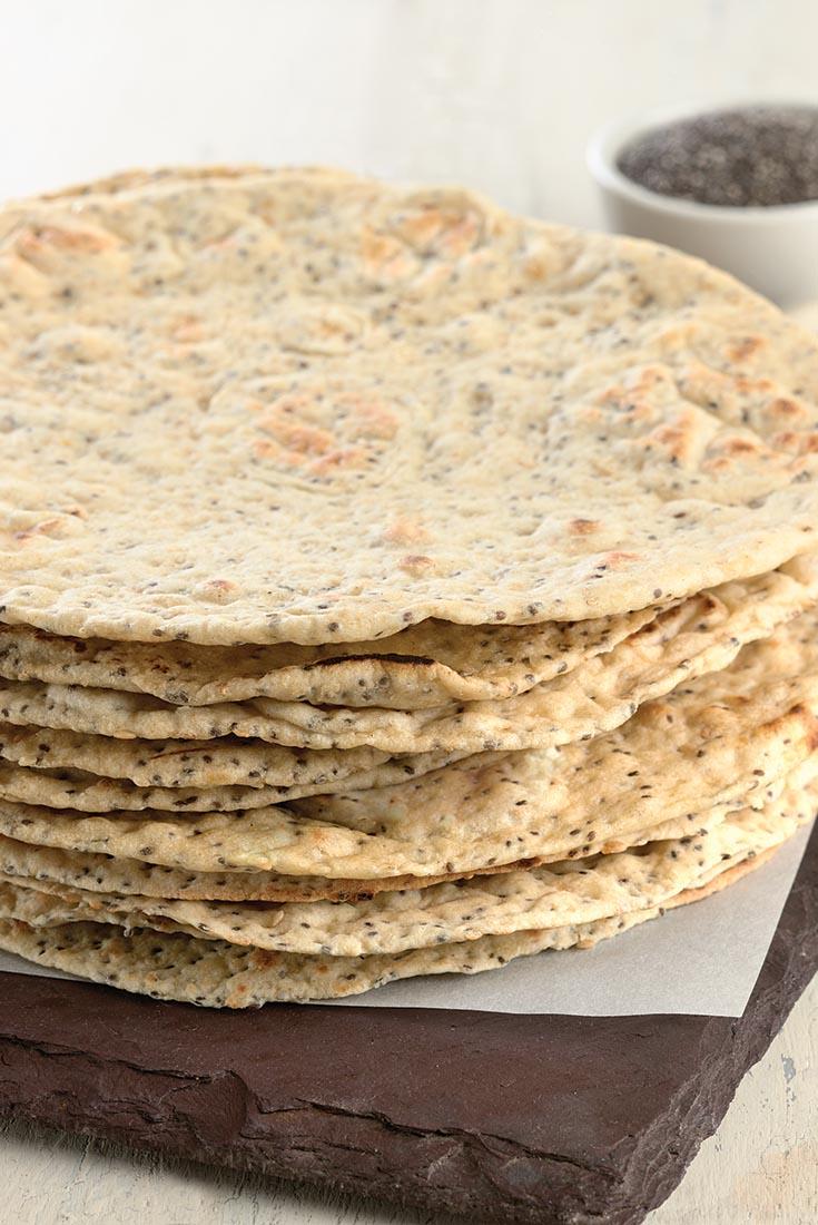 Chia Seed Flatbread Recipe