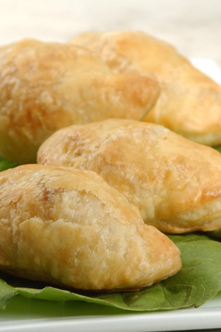 Samosas with Quick Flaky Pastry Recipe