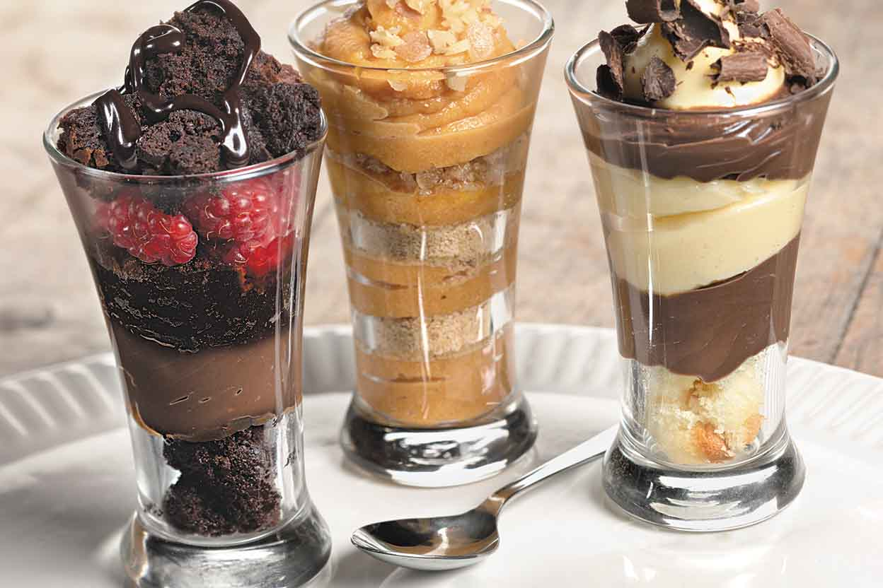 Dessert Shot Parfaits Recipe
