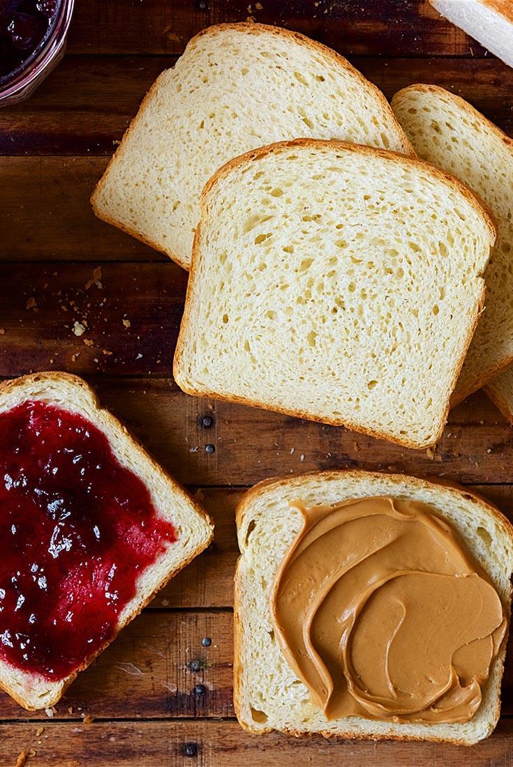 White Sandwich Bread Recipe