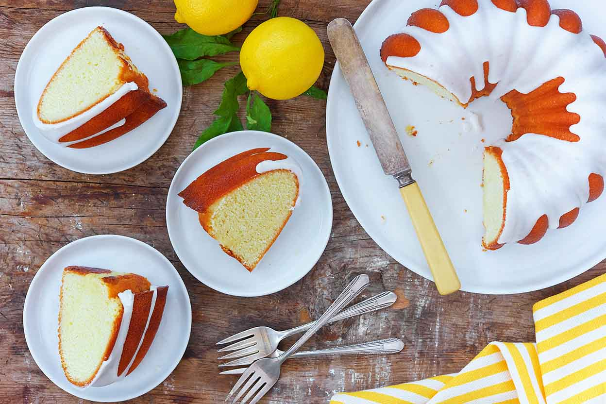 Cake Recipe King Arthur Flour: Lemon Bliss Cake Recipe