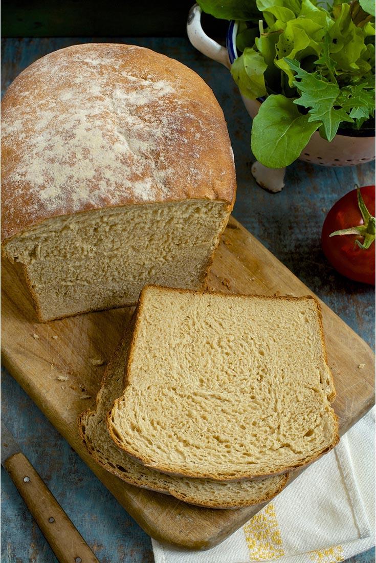 100% Whole Wheat Sandwich Bread Recipe