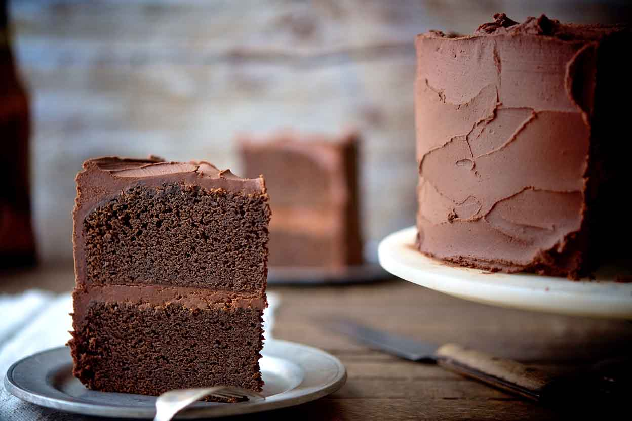 Chocolate Stout Cake Recipe | King Arthur Flour