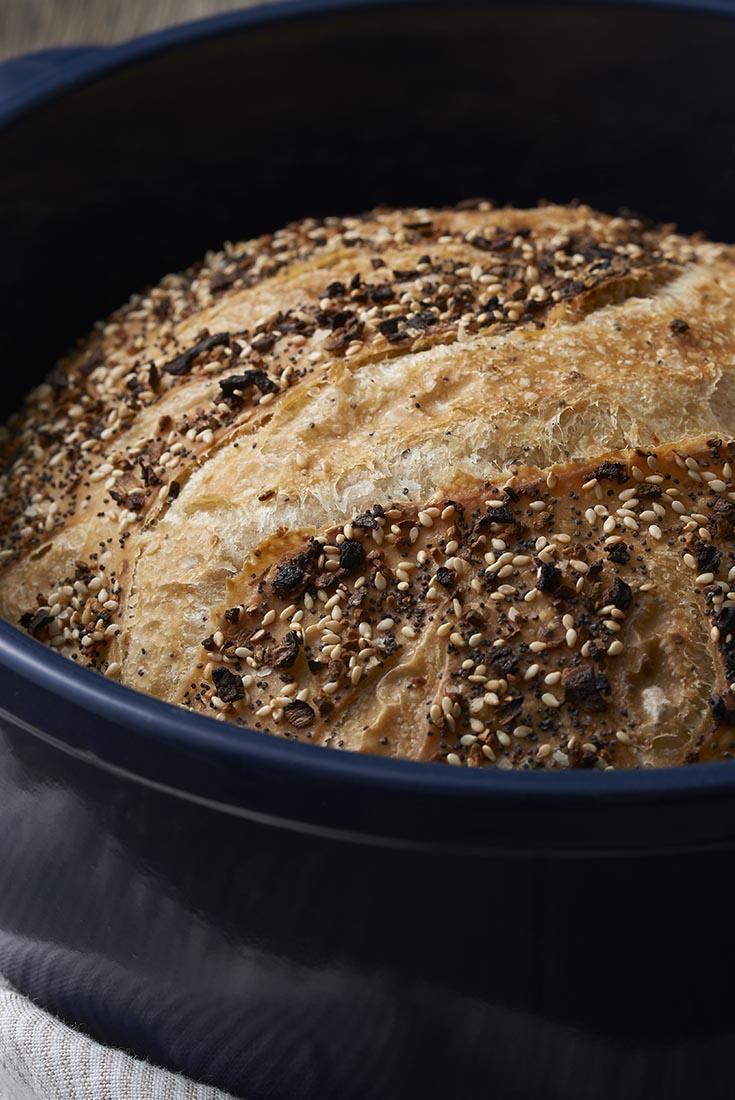 No-Knead Everything Bread Recipe